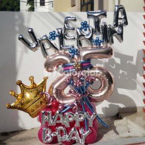 coronag globos metalico santo domingo