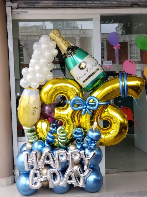 cumpleaños santo domingo globos