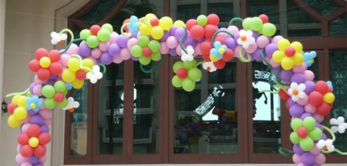 Eventos corporativos con globos