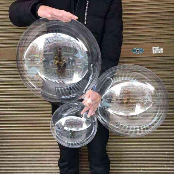 globo trasparente santo domingo
