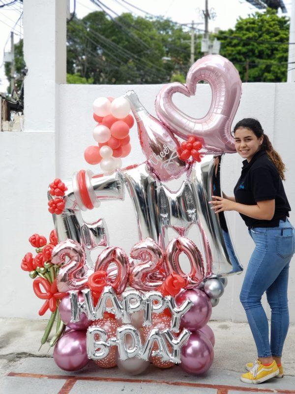 globos te amo santo domingo