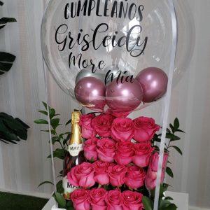 arreglos de rosas y globos santo domingo