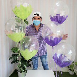 globos con helio republica dominicana y santo domingo